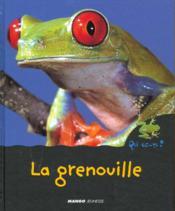 La Grenouille - Couverture - Format classique