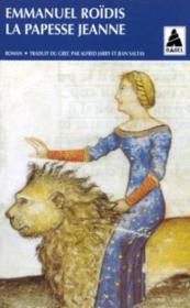 La Papesse Jeanne - Couverture - Format classique