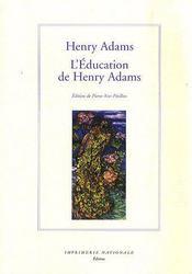 L'éducation de Henry Adams - Couverture - Format classique