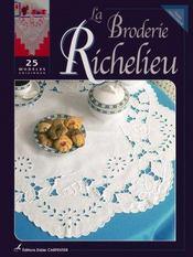 Broderie Richelieu ; 25 modèles originaux (la) - Intérieur - Format classique