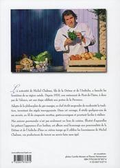 Mes saisons gourmandes - 4ème de couverture - Format classique