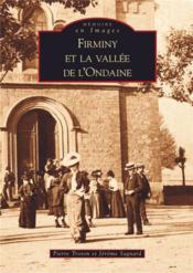 Firminy et la vallée de l'Ondaine - Couverture - Format classique