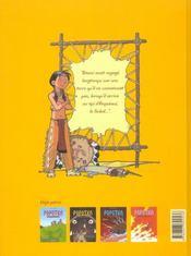 Popotka le petit sioux t.4 ; les jambières magiques - 4ème de couverture - Format classique
