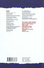 Spirale N.16 - 4ème de couverture - Format classique