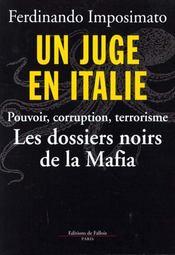 Un Juge En Italie - Intérieur - Format classique