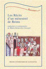 Les Recits D'Un Menestrel De Reims - Couverture - Format classique