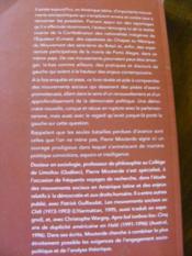 Quand l'utopie ne désarme pas ; les pratiques alternatives de la gauche latino-américaine - Couverture - Format classique