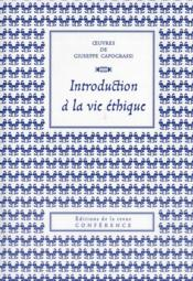 Vente  Introduction à la vie éthique  - Giuseppe Capograssi