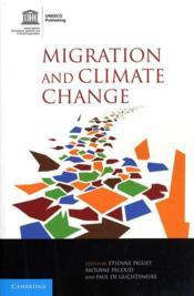 Migration and climate change - Couverture - Format classique