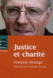 Justice et charité - Couverture - Format classique