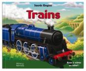 Sacrés engins ; trains - Couverture - Format classique
