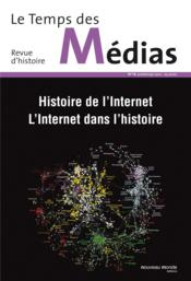 Revue Le Temps Des Medias - Couverture - Format classique