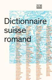 Dictionnaire suisse romand - Couverture - Format classique