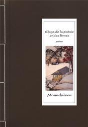 Éloge de la poésie et des livres - Couverture - Format classique