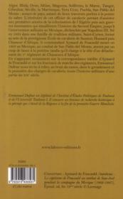 Aymard de Foucauld (1824-1863) - 4ème de couverture - Format classique