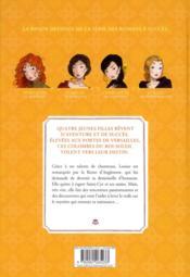 Bd les colombes du roi soleil t.2 - 4ème de couverture - Format classique