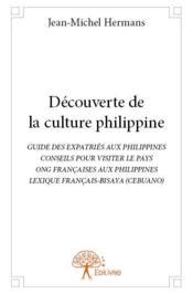Découverte de la culture philippine - Couverture - Format classique