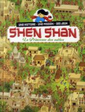 Shen Shan t.5 ; la princesse des sables - Couverture - Format classique