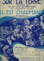 Il Est Charmant - N°9 : Sur La Terre - Piano Et Chant. - Couverture - Format classique