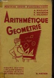 Arithmetique Geometrie - Couverture - Format classique
