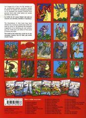 Je colorie les lutins, les fées, les korrigans et les dragons - 4ème de couverture - Format classique