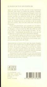 La Mere Du 1084 - 4ème de couverture - Format classique