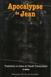 Apocalypse de jean (3e édition) - Couverture - Format classique