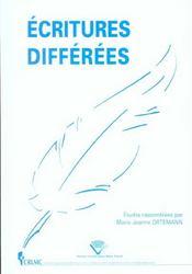 Les Ecritures Differees - Intérieur - Format classique