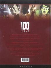 100 âmes t.1 ; la ville des damnés - 4ème de couverture - Format classique