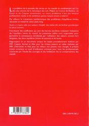 Tables De Poussee Et De Butee Des Terres - 4ème de couverture - Format classique