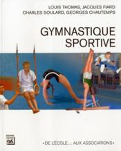 Gymnastique sportive - Couverture - Format classique