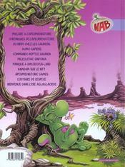 Nab T.11 ; Bienvenue Dans L'Ere Aglaglaciere - 4ème de couverture - Format classique