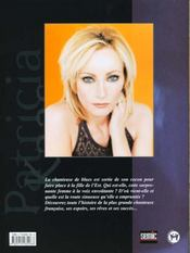Patricia kaas - 4ème de couverture - Format classique