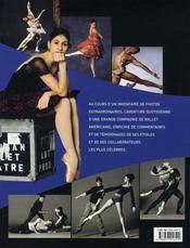 La danse à l'american ballet theatre - 4ème de couverture - Format classique