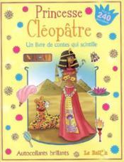 Le monde magique ; autocollants princesse cléopâtre - Couverture - Format classique