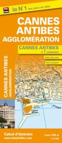 Cannes Antibes agglomeration + 7 communes ; 1/10 800