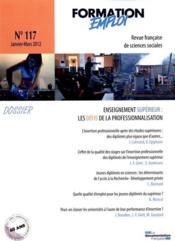 Prospective Formation Emploi N.117 - Couverture - Format classique