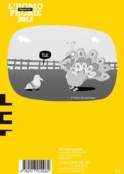 Rapport sur l'homophobie 2012 - 4ème de couverture - Format classique