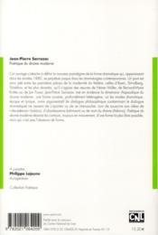 Revue Poetique N.172 - 4ème de couverture - Format classique