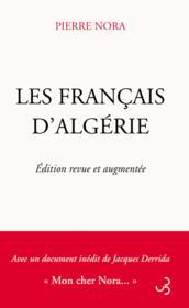 Les Francais d'Algerie