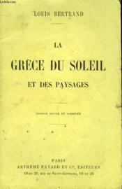 La Grece Du Soleil Et Des Paysages. - Couverture - Format classique