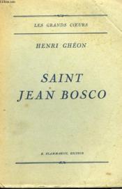 Saint Jean Bosco. - Couverture - Format classique