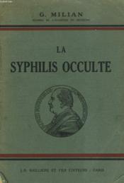 Laz Syphilis Occulte - Couverture - Format classique