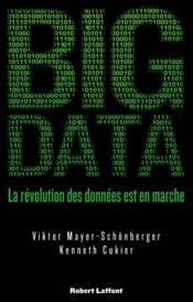 Big data ; la révolution des données est en marche - Couverture - Format classique