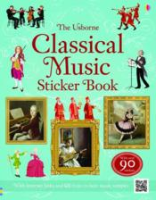 Vente livre :  Classical music sticker book  - Anthony Marks
