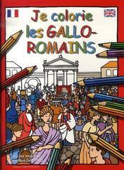 Je colorie les gallo-romains - Intérieur - Format classique