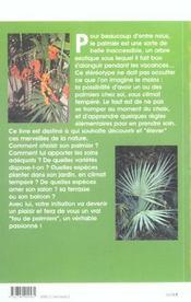 Palmier (Le) - 4ème de couverture - Format classique