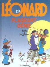 Léonard t.19 ; flagrant génie - Couverture - Format classique