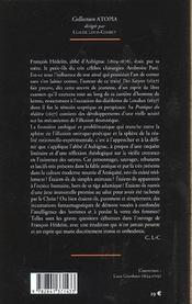 Satyres Brutes, Monstres Et Demons 1627 (Des) - 4ème de couverture - Format classique