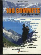 100 sommets des pyrenees - Couverture - Format classique